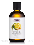 NOW® Essential Oils - Lemon & Eucalyptus Oil Blend - 4 fl. oz (118 ml)