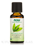 NOW® Essential Oils - Organic Cinnamon Cassia Oil - 1 fl. oz (30 ml)