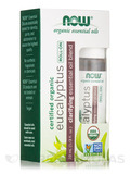 NOW® Organic Essential Oils - Eucalyptus Essential Oil Blend (Roll-on) - 1/3 fl. oz (10 ml)
