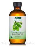 NOW® Organic Essential Oils - Peppermint - 4 fl. oz (118 ml)
