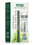 NOW® Organic Essential Oils - Tea Tree Essential Oil Blend (Roll-on) - 1/3 fl. oz (10 ml)