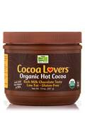 NOW® Real Food - Cocoa Lovers™ Organic Hot Cocoa Mix - 14 oz (397 Grams)