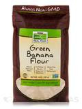 NOW Real Food® - Green Banana Flour - 14 oz (397 Grams)
