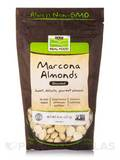NOW® Real Food - Marcona Almonds (Blanched) - 8 oz (227 Grams)