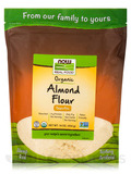 NOW Real Food® - Organic Almond Flour - 16 oz (454 Grams)