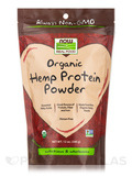 NOW Real Food® - Organic Hemp Protein - 12 oz (340 Grams)