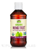 NOW Real Food® - Organic Monk Fruit Liquid Sweetener - 8 fl. oz (237 ml)