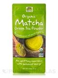 NOW® Real Tea - Organic Matcha Green Tea Powder - 3 oz (85 Grams)