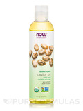 NOW® Solutions - Castor Oil (100% Pure) - 8 fl. oz (237 ml)