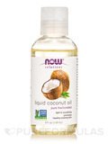NOW® Solutions - Liquid Coconut Oil - 4 fl. oz (118 ml)