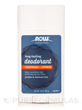 NOW® Solutions - Long-Lasting Deodorant Stick, Cedarwood + Cypress - 2.2 oz (62 Grams)