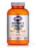 NOW® Sports - Arginine & Citrulline Powder - 12 oz (340 Grams)