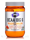NOW® Sports - BCAA Big 6, Natural Watermelon Flavor - 21.16 oz (600 Grams)