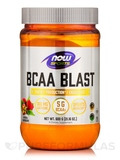 NOW® Sports - BCAA Blast Powder, Natural Raspberry Flavor - 21.16 oz (600 Grams)