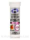 NOW® Sports - Effer-Hydrate Effervescent, Orange Strawberry - 10 Tablets