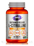 NOW® Sports - L-Citrulline 750 mg (Sustained Release) - 120 Tablets
