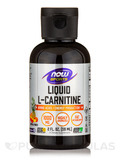 NOW® Sports - Liquid L-Carnitine 1000 mg, Tropical Punch Flavor - 2 fl. oz (59 ml)