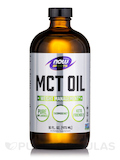 NOW® Sports - MCT Oil, Pure Unflavored - 16 fl. oz (473 ml)