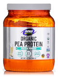NOW® Sports - Organic Pea Protein, Natural Vanilla - 1.5 lbs (680 Grams)