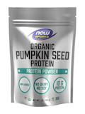 NOW® Sports - Organic Pumpkin Seed Protein Powder, Unflavored - 1 lb (454 Grams)