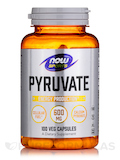 NOW® Sports - Pyruvate 600 mg - 100 Capsules