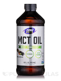 NOW® Sports - MCT Oil, Vanilla Hazelnut Flavor - 16 fl. oz (473 ml)