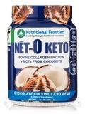 N t-O Keto, Chocolate Coconut Ice Cream - 1.31 lbs (589.4 Grams)
