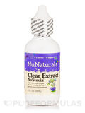 NuStevia Clear Extract (Plastic Bottle) - 2 fl. oz (59 ml)