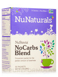 NuStevia NoCarbs Blend - Box of 50 Packets (1 oz / 29 Grams)