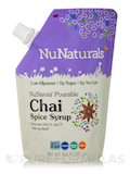 NuStevia Pourable Chai Spice Syrup (Pouch) - 6.6 fl. oz