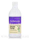 NuStevia Concentrated Simple Syrup - 16 fl. oz