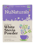 NuStevia White Stevia Powder Packets - Box of 50 Packets (1 Gram Each)