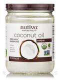 Organic Virgin Coconut Oil (Glass Jar) - 14 fl. oz (414 ml)