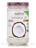 Organic Virgin Coconut Oil (Glass Jar) - 23 fl. oz (680 ml)