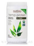 Organic Hemp Protein Hi-Fiber Powder 16 oz (454 Grams)