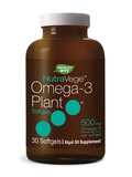 NutraVege™ Omega-3 Plant 500 mg - 30 Softgels