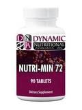 Nutri Min 72 - 90 Tablets