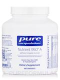 Nutrient 950® A w/o Cu & Fe - 180 Capsules