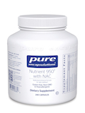 Nutrient 950 with NAC 240 Capsules