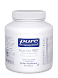 Nutrient 950 w/o Copper and Iron 180 Capsules