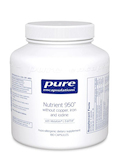 Nutrient 950 without Copper, Iron and Iodine - 180 Capsules
