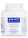 Nutrient 950 w/o Iron - 180 Capsules