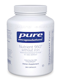 Nutrient 950 w/o Iron 360 Capsules
