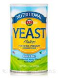 Nutritional Yeast Flakes (Unsweetened, Gluten Free, Non-GMO, Vegan Friendly), Nutty Flavor - 12 oz (