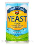 Nutritional Yeast Flakes (Unsweetened, Gluten Free, Non-GMO, Vegan Friendly), Nutty Flavor - 22 oz (