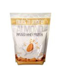 Nuts 'N More Almond Infused Whey Protein Vanilla - 2.1 lb (909 Grams)