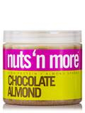 Nuts 'N More Chocolate Almond Butter High Protein Spread - 16 oz (454 Grams)