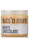 Nuts 'N More White Chocolate Peanut Butter - 16 oz (454 Grams)