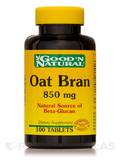 Oat Bran 850 mg (Avena sativa) (husk) - 100 Tablets