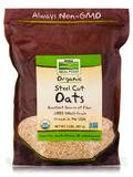 NOW Real Food® - Oats (Steel Cut) - 2 lbs (907 Grams)